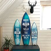 Для дома и интерьера handmade. Livemaster - original item Surf Board. Handmade.