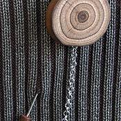 Сувениры и подарки ручной работы. Ярмарка Мастеров - ручная работа Брошь булавка деревянная еловая unisex ручной работы. Handmade.