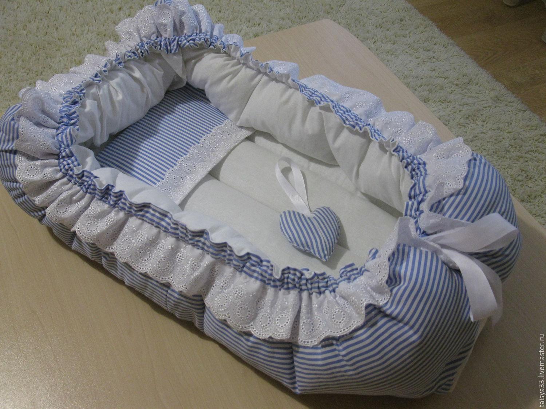 Кокон для новорожденного своими руками 49