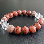 Фен-шуй и эзотерика handmade. Livemaster - original item Bracelet 3 Azeztulite: Red Flame, Rodazez and Satyaloka. Handmade.