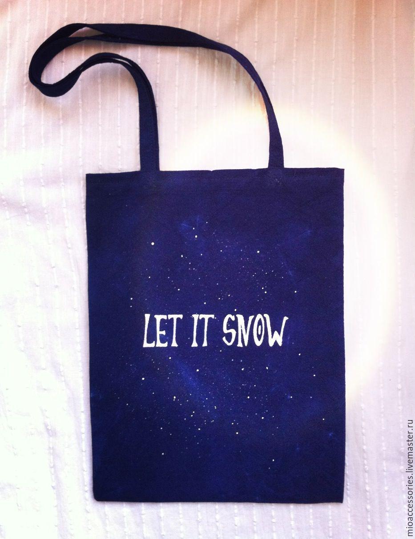 67768be7d91c Хлопковые сумки с надписями – купить в интернет-магазине на Ярмарке ...
