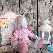 Куклы и игрушки ручной работы. Ярмарка Мастеров - ручная работа Заюшка-сплюшечка. Handmade.