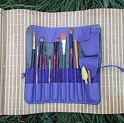 Материалы для творчества handmade. Livemaster - original item Case organizer for brushes and pencils.. Handmade.
