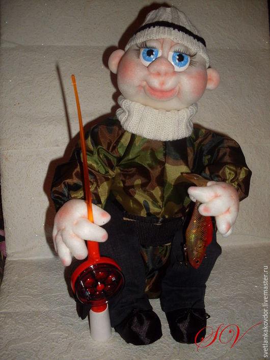 Человечки ручной работы. Ярмарка Мастеров - ручная работа. Купить мини-бар. Handmade. Кукла ручной работы
