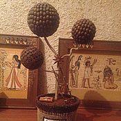 Для дома и интерьера ручной работы. Ярмарка Мастеров - ручная работа Кофейное дерево. Handmade.