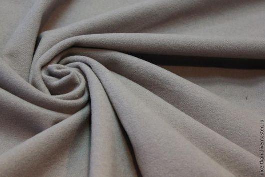 """Шитье ручной работы. Ярмарка Мастеров - ручная работа. Купить 09701 итальянский драп """"серый трюфель"""". Handmade. Серый"""