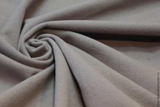 """Шитье ручной работы. Ярмарка Мастеров - ручная работа. Купить Ткань 09701 итальянский драп """"серый трюфель"""". Handmade. Серый"""