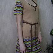 """Одежда ручной работы. Ярмарка Мастеров - ручная работа Платье""""По мотивам Миссони"""". Handmade."""
