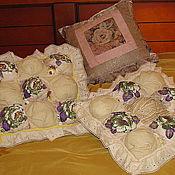 Для дома и интерьера ручной работы. Ярмарка Мастеров - ручная работа Лавандовые подушки. Handmade.