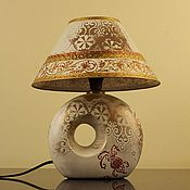 Для дома и интерьера ручной работы. Ярмарка Мастеров - ручная работа Настольная лампа. Handmade.