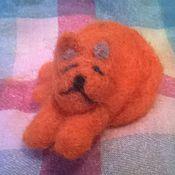 Куклы и игрушки ручной работы. Ярмарка Мастеров - ручная работа Кот Апельсиновые сны. Handmade.