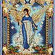 Набор `Образа в каменьях` икона Ангел Хранитель домашнего очага
