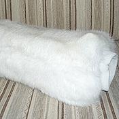 Аксессуары ручной работы. Ярмарка Мастеров - ручная работа Муфта из меха кролика белая. Handmade.