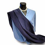 """Шарфы ручной работы. Ярмарка Мастеров - ручная работа Шелковый шарф """"Глубина Океана"""", натуральный шелк. Handmade."""