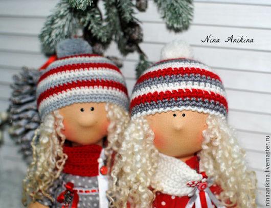Коллекционные куклы ручной работы. Ярмарка Мастеров - ручная работа. Купить Текстильные Куколки. Handmade. Комбинированный, украшения ручной работы