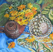 Pictures handmade. Livemaster - original item Oil painting . Still life.