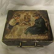 """Для дома и интерьера ручной работы. Ярмарка Мастеров - ручная работа коробочка для чая """"Чаепитие"""". Handmade."""