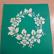 Материалы для творчества handmade. Livemaster - original item Copy of stencils adhesive. Handmade.