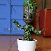 Для дома и интерьера handmade. Livemaster - original item Baby Groot (Little Groot) from the movie