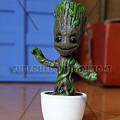 Figurines handmade. Livemaster - original item Baby Groot (Little Groot) from the movie