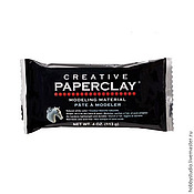 Материалы для творчества ручной работы. Ярмарка Мастеров - ручная работа Paper Clay Creativ, 113 гр.. Handmade.