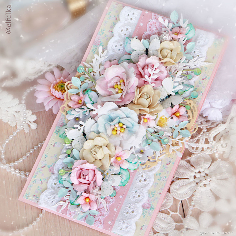 Цветы для открыток ручной работы магазина