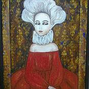 """Картины и панно ручной работы. Ярмарка Мастеров - ручная работа Картина """"Инфанта"""". Handmade."""