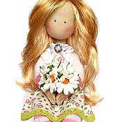 Куклы и игрушки ручной работы. Ярмарка Мастеров - ручная работа Текстильная интерьерная кукла SOFIA. Handmade.