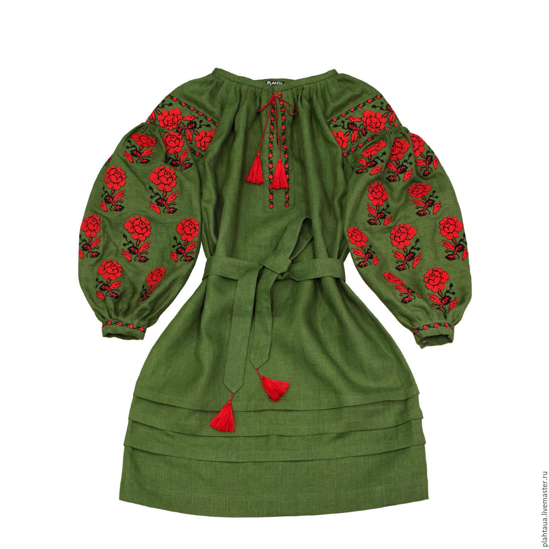 """Платье-вышиванка """"Лесная Роза"""", Платья, Киев, Фото №1"""
