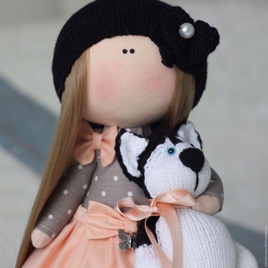 Куклы тыквоголовки ручной работы. Ярмарка Мастеров - ручная работа. Купить Интерьерная кукла. Handmade. Интерьерная игрушка, интерьер, пряжа