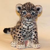 Stuffed Toys handmade. Livemaster - original item a leopard
