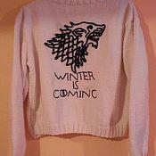 """Одежда ручной работы. Ярмарка Мастеров - ручная работа Свитер """"Зима близко""""продано. Handmade."""