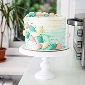 Декор торта ручной работы. Ярмарка Мастеров - ручная работа Торт на заказ Москва морской стиль. Handmade.