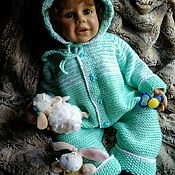 Работы для детей, handmade. Livemaster - original item Romper for baby.. Handmade.