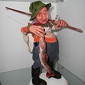 Куклы и пупсы ручной работы. Ярмарка Мастеров - ручная работа Рыбак,эльф-коротышка.. Handmade.