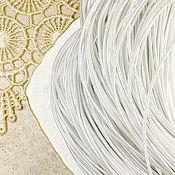 Материалы для творчества ручной работы. Ярмарка Мастеров - ручная работа Канитель жесткая Серебро 1,25 мм. Handmade.