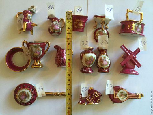 Винтажные сувениры. Ярмарка Мастеров - ручная работа. Купить Коллекционный Лимож разные предметы -1. Handmade. Фарфор, кувшин