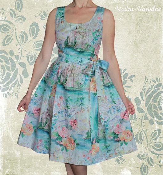 платье Римские Каникулы