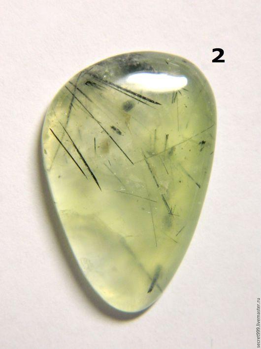 Для украшений ручной работы. Заказать Пренит кабошон природный камень зеленый камень салатовый камень. Кабошон со всех сторон. Ярмарка Мастеров.