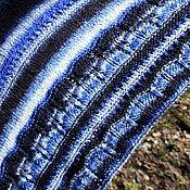 """Аксессуары ручной работы. Ярмарка Мастеров - ручная работа Шаль """"Морская волна"""". Handmade."""