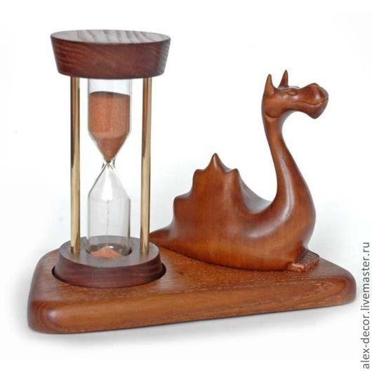 Часы для дома ручной работы. Ярмарка Мастеров - ручная работа. Купить Песочные часы Dragon. Handmade. Часы, песочные часы
