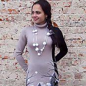 """Одежда ручной работы. Ярмарка Мастеров - ручная работа платье """" День&Ночь """". Handmade."""