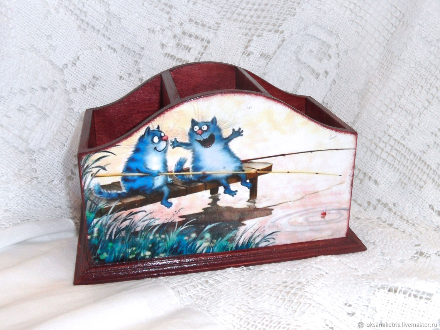 Pencil Holders handmade. Livemaster - handmade. Buy Pencil Rusalochka.Pencil, to buy a pencil, for remotes stand