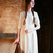 Одежда ручной работы. Ярмарка Мастеров - ручная работа Платье Тишина. Handmade.