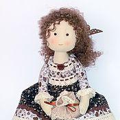 Куклы и игрушки ручной работы. Ярмарка Мастеров - ручная работа Кукла Мэри, кофейная фея. Handmade.