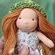 Дина 16 см. Вальдорфская кукла.Julia Solarrain (SolarDolls) Ярмарка Мастеров