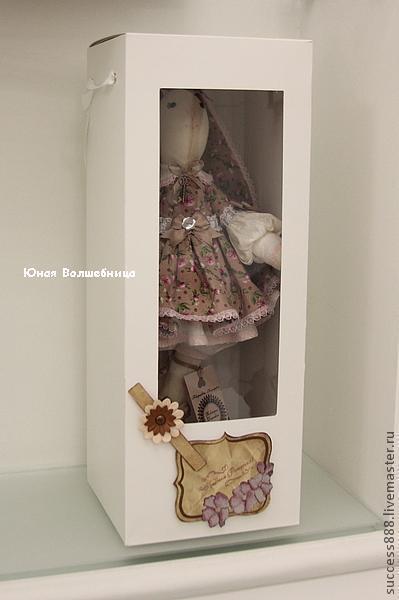 Коробки для кукол с прозрачной крышкой своими руками