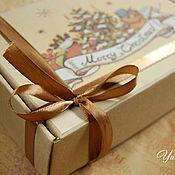 Косметика ручной работы. Ярмарка Мастеров - ручная работа Подарочная упаковка для мыла и косметики картонная. Handmade.