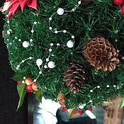 Рождественская омела ( ветка поцелуев)