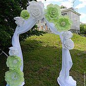Свадебный салон ручной работы. Ярмарка Мастеров - ручная работа Бумажные цветы для праздничного оформления. Handmade.